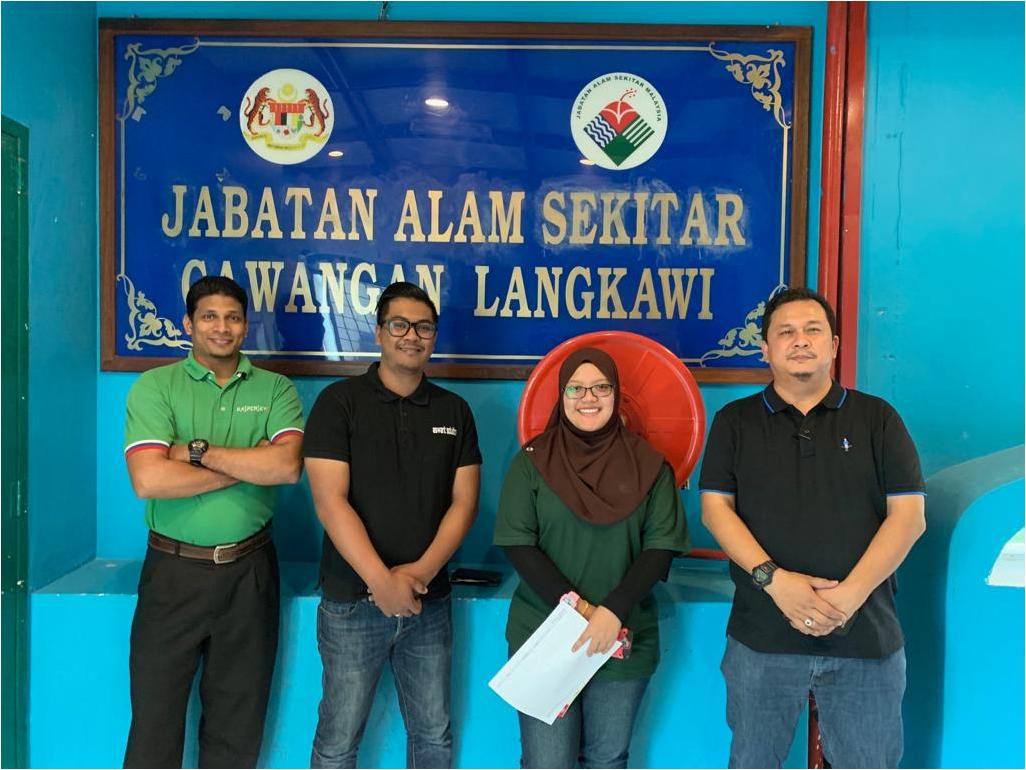 1 2 November 2018 Deployment Kaspersky Project At Jabatan Alam Sekitar Jas Jabatan Alam Sekitar Perlis And Langkawi Aswant